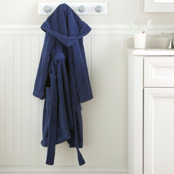 Monogrammed Snuggly 100% Cotton Bathrobe by Birch Lane Kids™